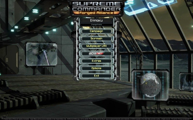 how to start in supreme commander forged alliance