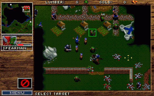 Warcraft Orcs Humans 1994 By Blizzard Ms Dos Game
