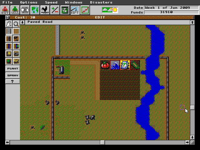 SimFarm (DOS) Game Download
