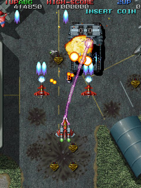 Raiden Fighters Jet (1998) by Seibu Kaihatsu Arcade game