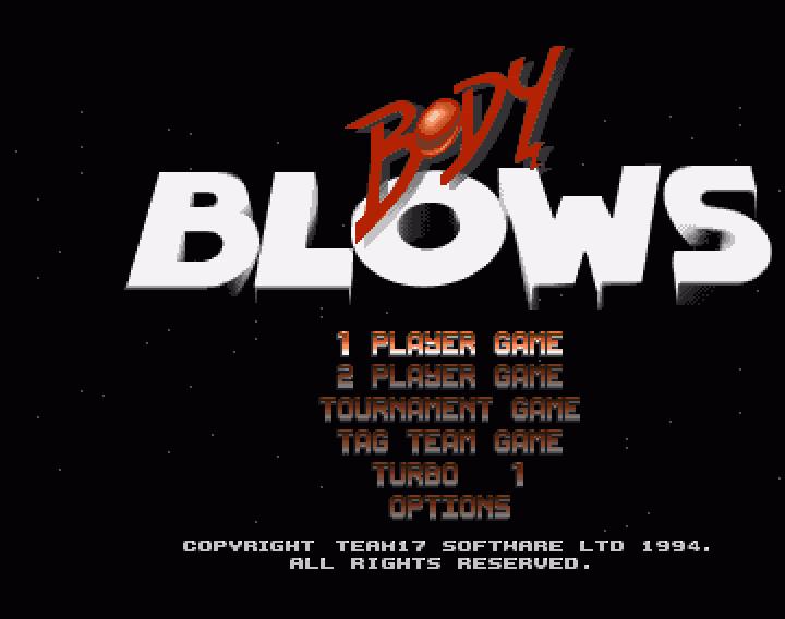 Body Blows - The Company - Classic Amiga Games