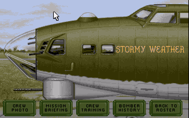 B-17 Flying Fortress (1993) Amiga game