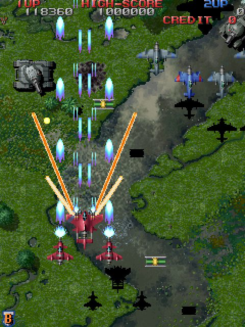 Raiden Fighters 2 (1997) Arcade game