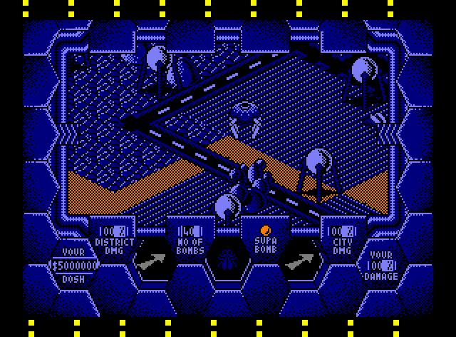 Amaurote (1987) By Binary Design Amstrad CPC Game