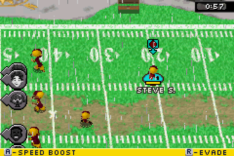 Backyard Football 2007 (2006) by Torus GBA game