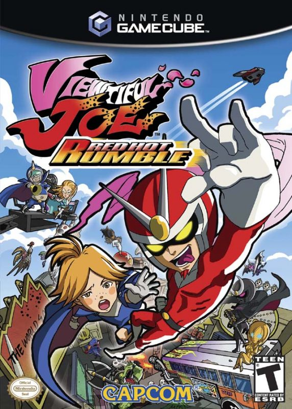 Viewtiful Joe Red Hot Rumble (GameCube)