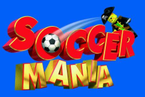 Lego Football Mania in-game screen.