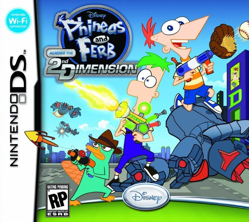 Phineas And Ferb: Across The Second Dimension (2011) By