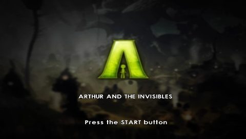 Arthur And The Invisibles 2007 By Etranges Libellules Psp Game