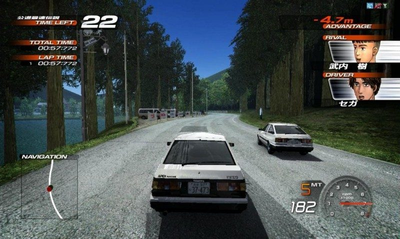 Initial D: Extreme Stage screenshots for PlayStation 3