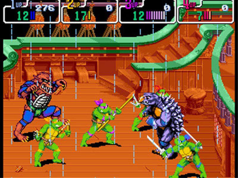Teenage Mutant Ninja Turtles Iv Turtles In Time 1992 By