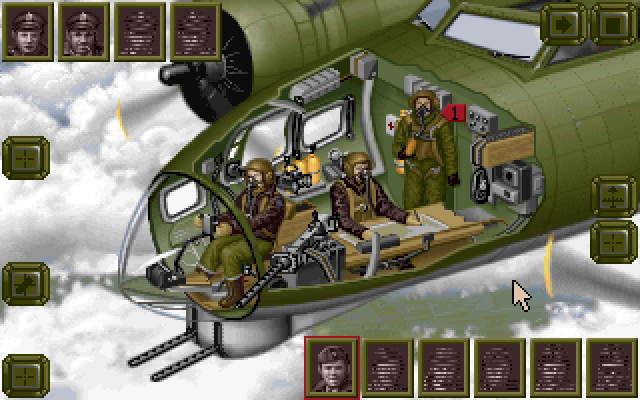 B-17 Flying Fortress (1992) MS-DOS game
