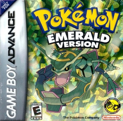 Pokémon Emerald Version (2004) by Game Freak GBA game