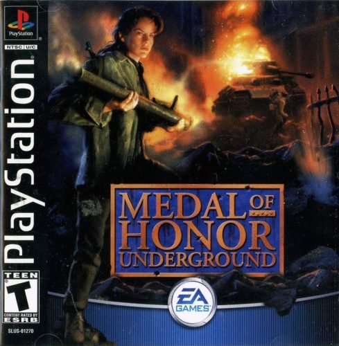 Medal of honor & medal of honor: underground | vk.