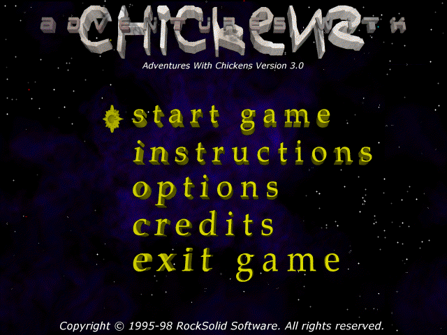 Adventures With Chickens Game