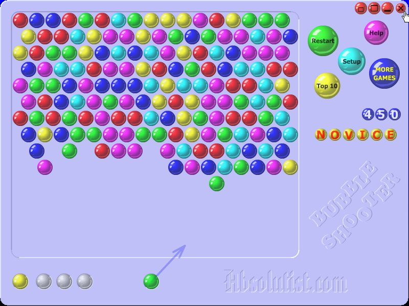 Bubble Shooter Absolutist