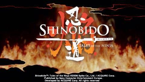 Shinobido Tales Of The Ninja 2006 By Acquire Psp Game