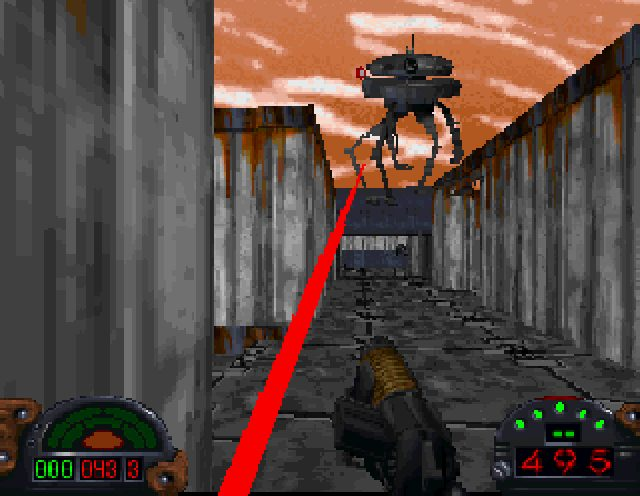 Star Wars: Dark Forces  in-game screen image #2