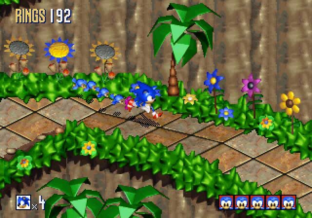 Sonic 3D Blast screenshots for Saturn