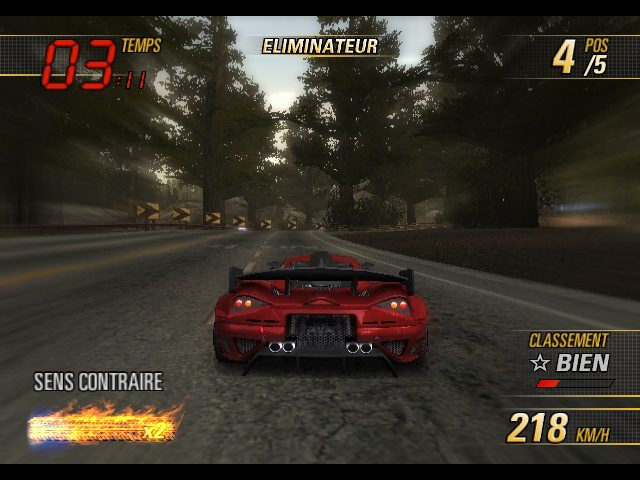 Burnout Revenge (2005) by Criterion Games Xbox game