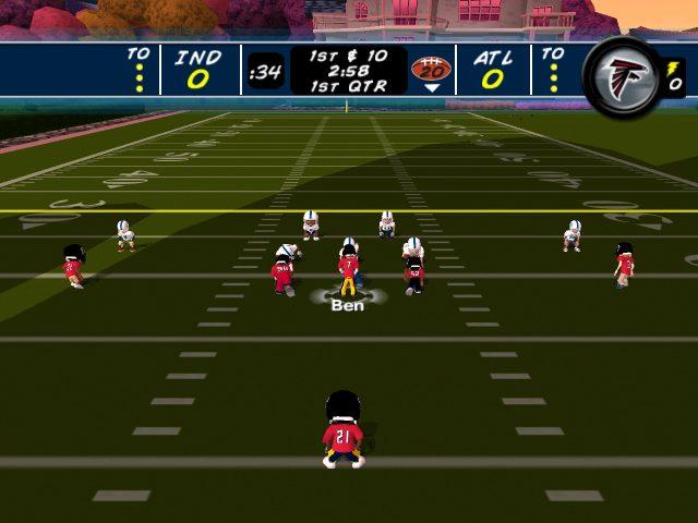 Backyard Football '09 (2008) by Humongous Wii game