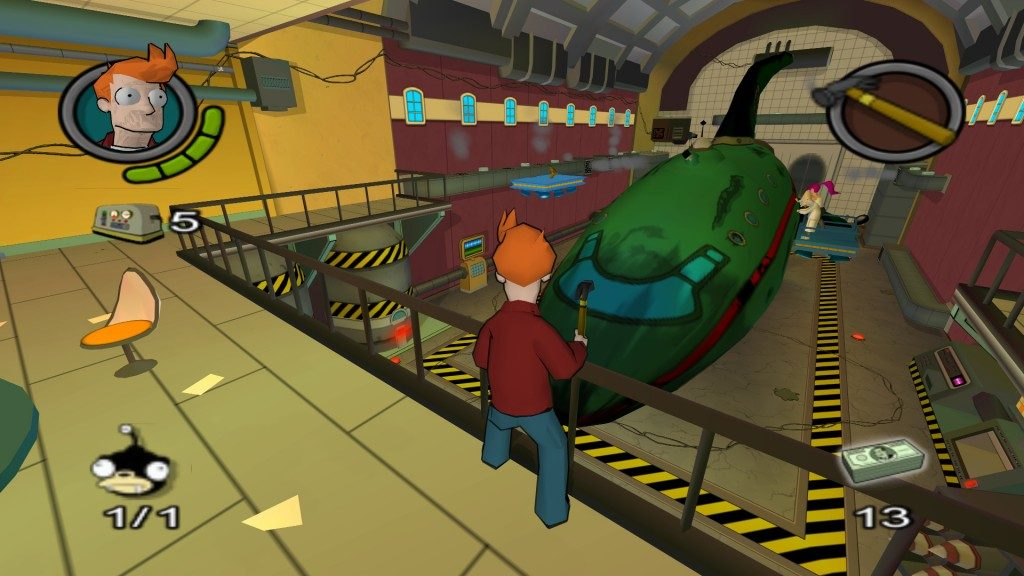 Futurama screenshots for PlayStation 2