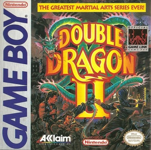 Double Dragon Ii 1990 By Technos Gb Game