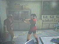 Resident Evil CODE: Veronica  in-game screen image #4