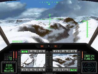 Comanche: Maximum Overkill in-game screen image #1