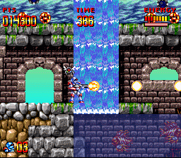 Super Turrican  in-game screen image #5