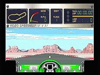 Video Speedway: The Ultimate Racing Experience  in-game screen image #1