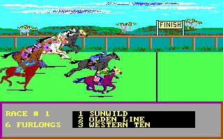 Daily Double Horse Racing in-game screen image #2