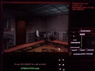 The Pandora Directive in-game screen image #1