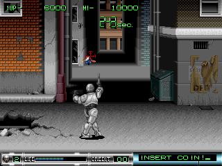 Robocop 2 in-game screen image #3