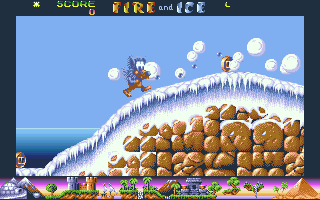 Fire and Ice: The Adventures of Cool Coyote  in-game screen image #1