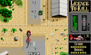 Licence to Kill  in-game screen image #1