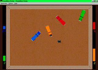 Demolition Derby in-game screen image #1
