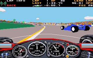 Indianapolis 500: The Simulation  in-game screen image #1