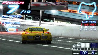 Ridge Racers  in-game screen image #3