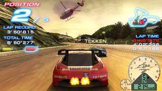Ridge Racers  in-game screen image #1