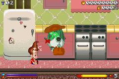 Jimmy Neutron: Boy Genius in-game screen image #1