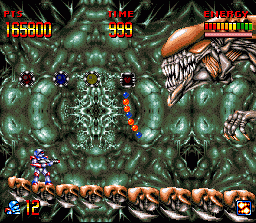 Super Turrican  in-game screen image #3