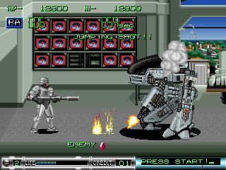 Robocop 2 in-game screen image #1