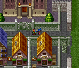 Breath of Fire II  in-game screen image #2