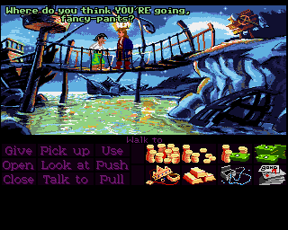 Monkey Island 2: LeChuck's Revenge in-game screen image #2