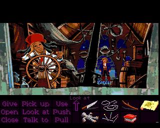 Monkey Island 2: LeChuck's Revenge in-game screen image #1