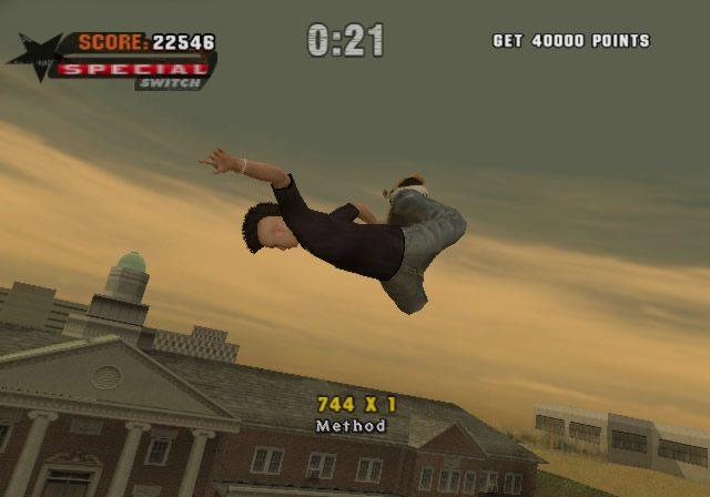 Tony Hawk's Underground in-game screen image #3