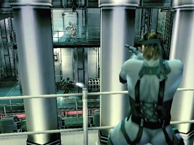 Metal Gear Solid 2: Sons of Liberty  in-game screen image #2