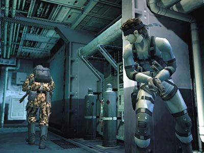 Metal Gear Solid 2: Sons of Liberty  in-game screen image #1