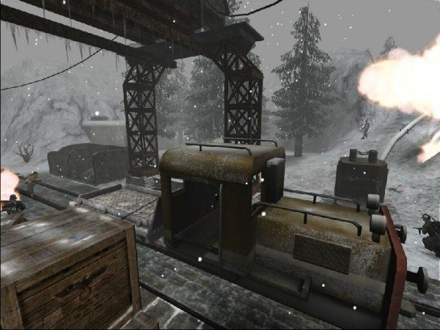 Wolfenstein: Enemy Territory in-game screen image #2